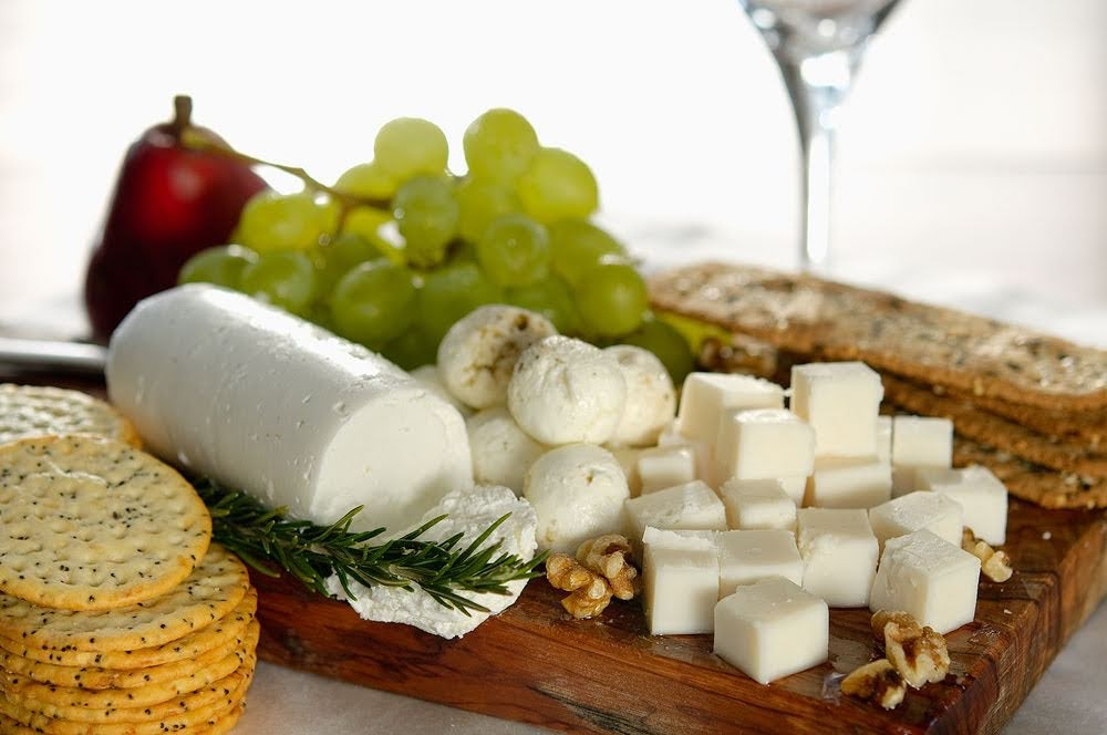 What to know about cheese- Fresh goat milk cheeses