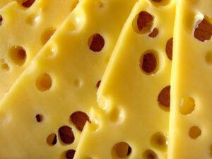 The Cheese Shark - How are the holes in cheese made.