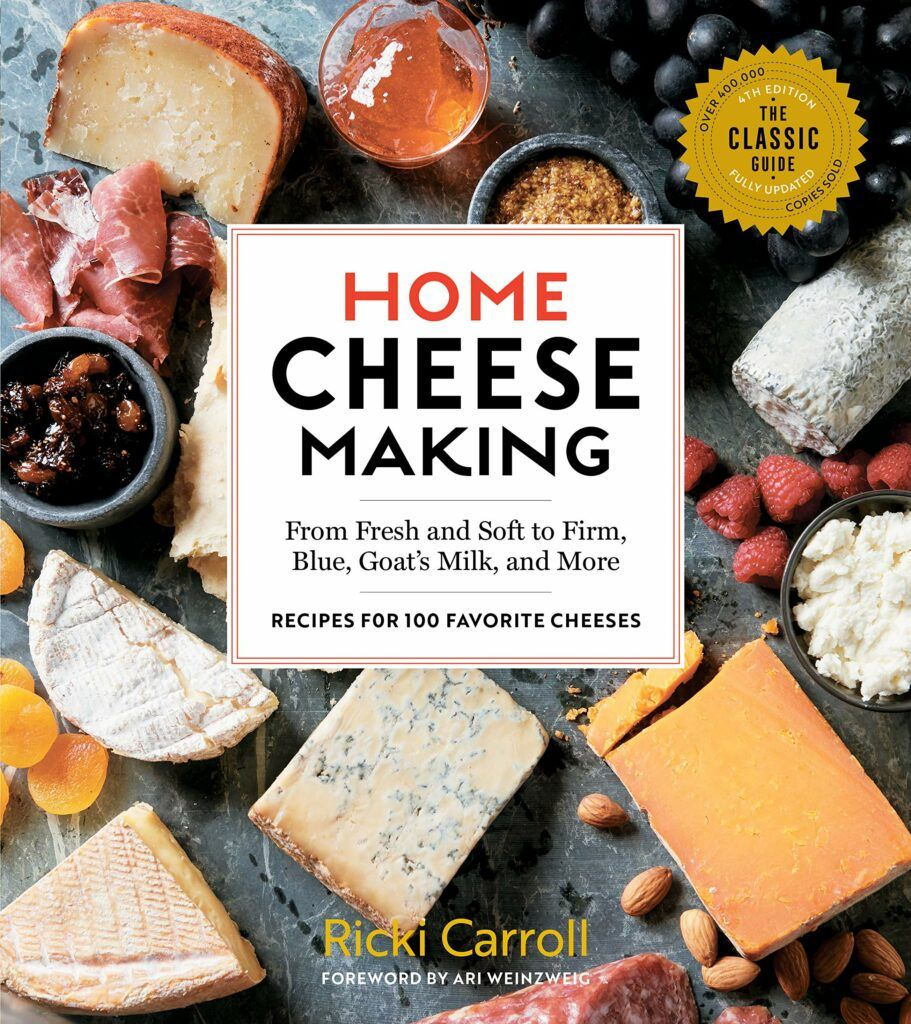 The Cheese Shark - Home Cheese Making Book by Ricki Carroll