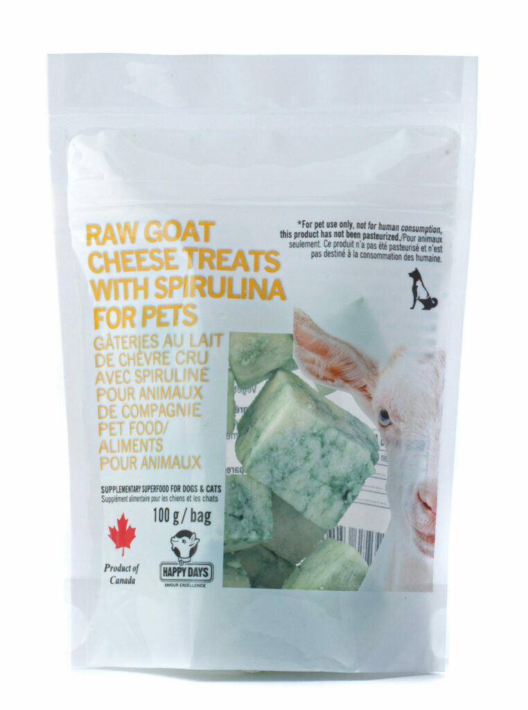The Cheese Shark - Raw Goat Cheese for Pets