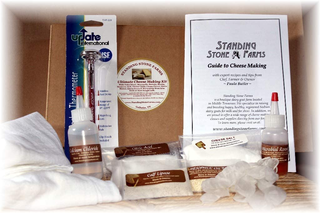The Cheese Shark - The Ultimate Cheese Making Kit