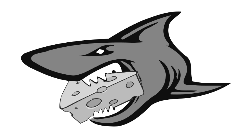 The Cheese Shark - Logo