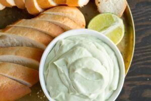 Creamy Avocado Dip - The Cheese Shark