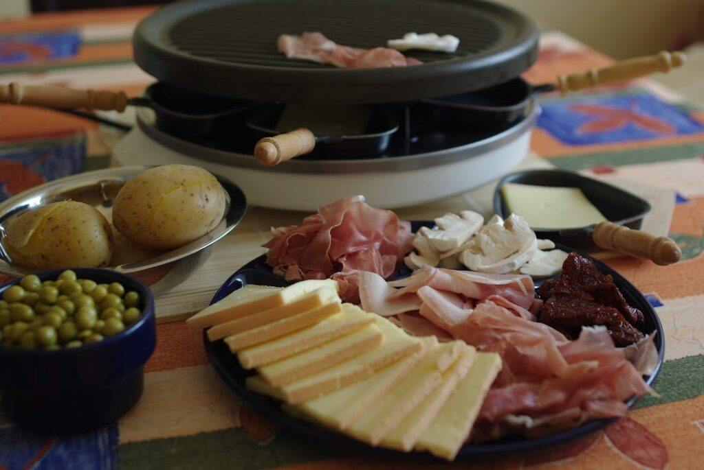 Toppings for Raclette - The Cheese Shark