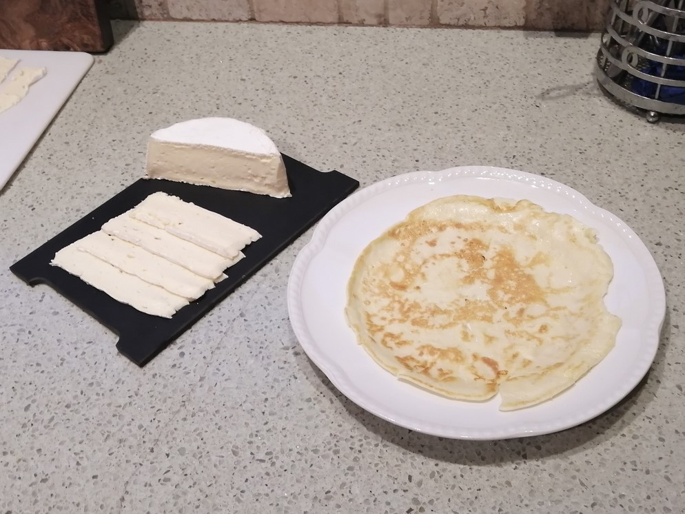 Brie Crepes - The Cheese Shark